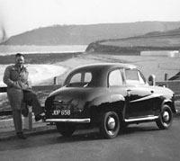 1954 Austin A30 rear view