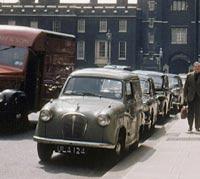 Van parked in London street