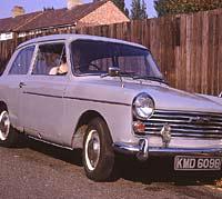 A 1964 A40 Mk2 in grey