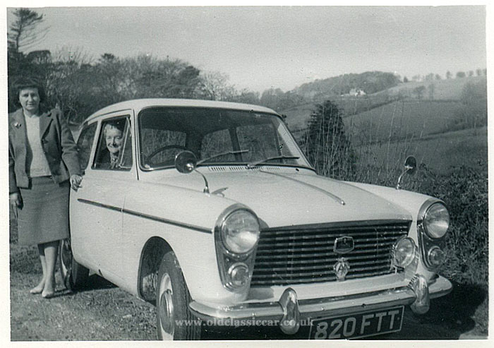 Austin A40 in the countryside