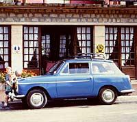 Ocean Blue Austin A40 Mk1