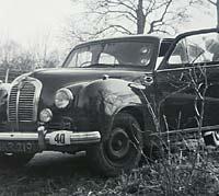 Austin A70 rally car