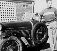 John with his Austin 7 Ace