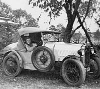 Side view of the Austin 7hp
