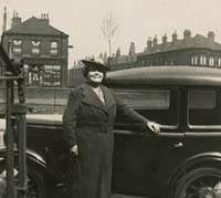 A lady with her Austin