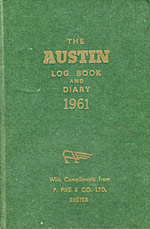 Austin Logbook and Diary 1961