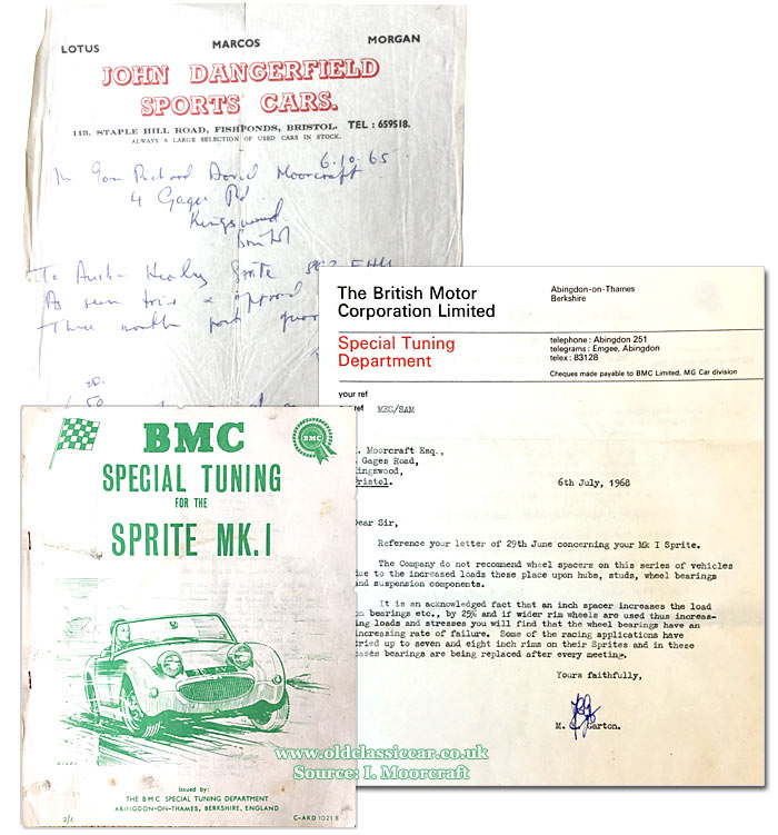BMC Special Tuning leaflet