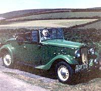 Photo of the Austin Eton around Exmoor