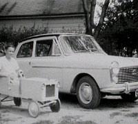 1959 A40 in Canada