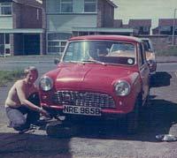 Red 1964 Mini