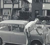 1963 Austin Mini Super Deluxe in Surf Blue