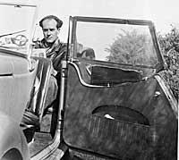 Peter Burdon, editor of BMC motoring magazines