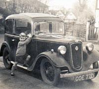 1936 Austin 7 Ruby