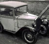 A 1930s Austin in aged condition