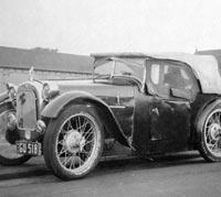 Austin Seven sportscar