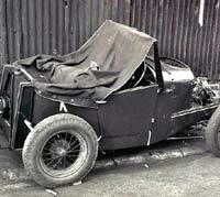 Part-built Austin 7
