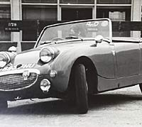 Continuing the autotest in the Austin-Healey