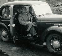 Austin 8 2-door saloon.