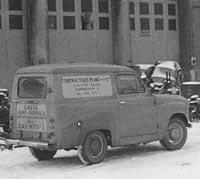 A 1962 Austin van