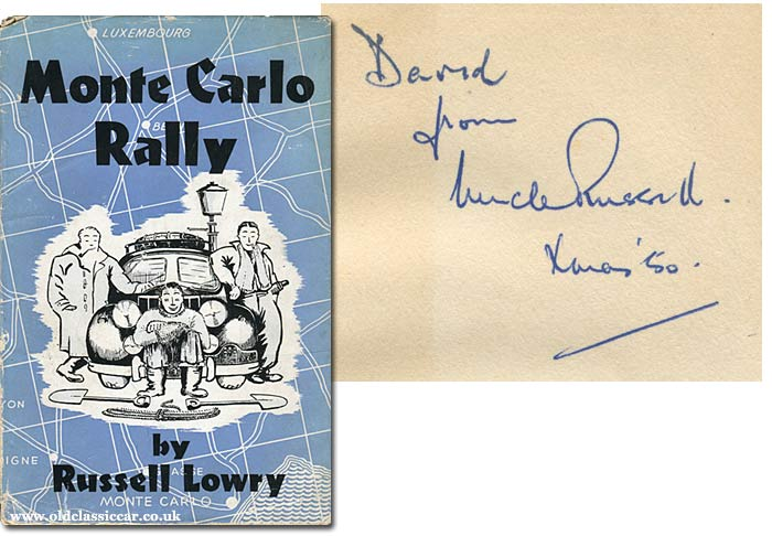Russell Lowry, Monte Carlo book signature