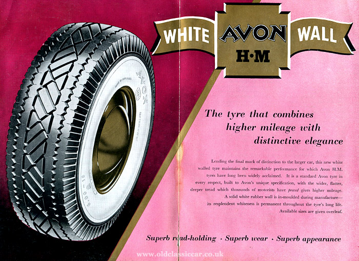 Avon HM whitewalls