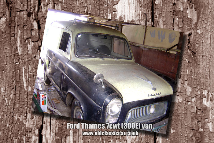 Frontal view of the Ford