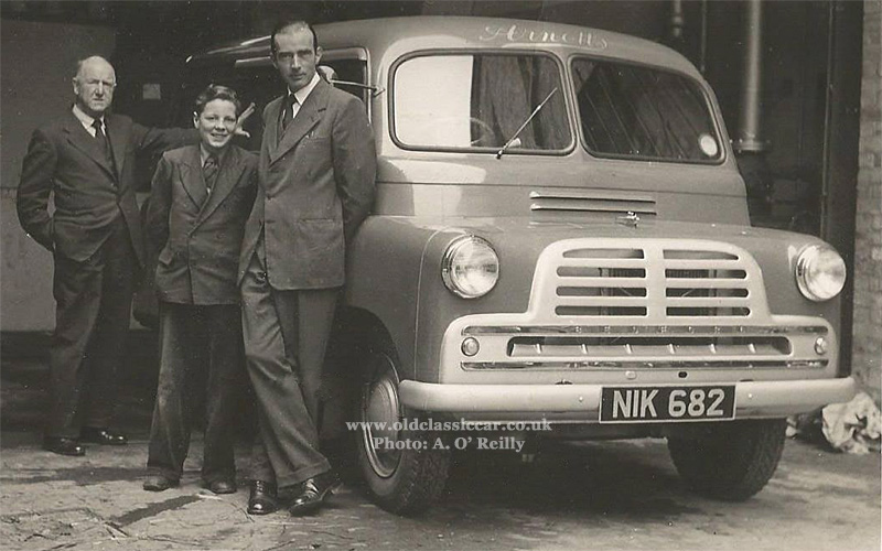 Various Signwritten Bedford Ca Vans Plus Minibus Amp Camper