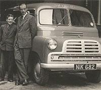 Front view of a Mk1 CA van