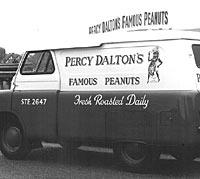 Peanut delivery van