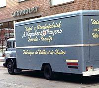 Furniture delivery van