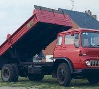 Bedford TK tipper lorry, circa 1964