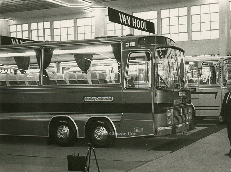 Bedford VAL twin-steer coach