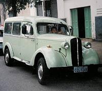 The van today
