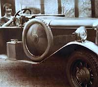 Belsize-Bradshaw car