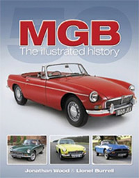 Book on the MGB car