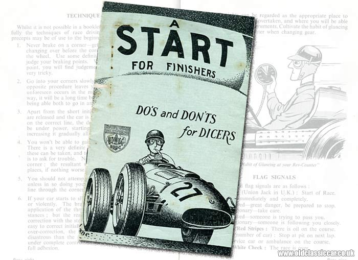 BRDC publication for new drivers