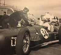 Reg Parnell in a BRM V16