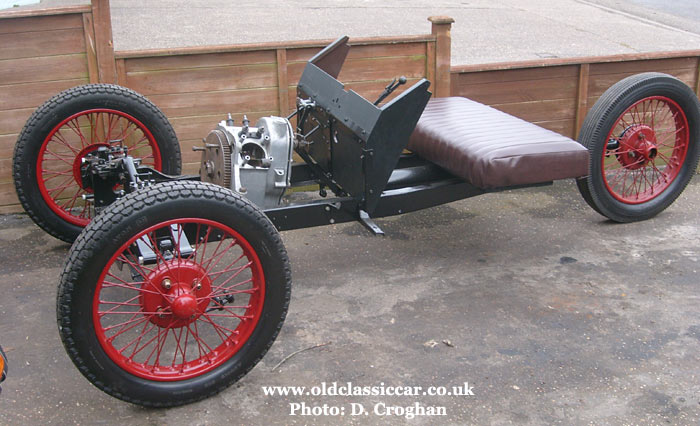 The BSA's rolling chassis