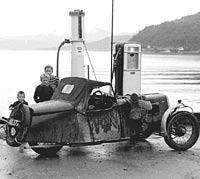 The BSA at Lake Vattern, Sweden