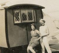 1920s Eccles caravan