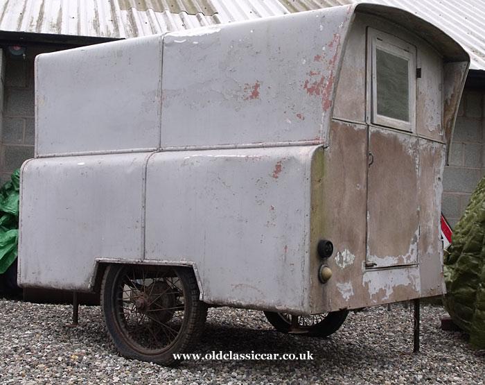 Old caravan needing restoration found