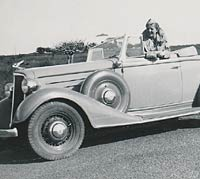 Another view of the 1930s Chevrolet