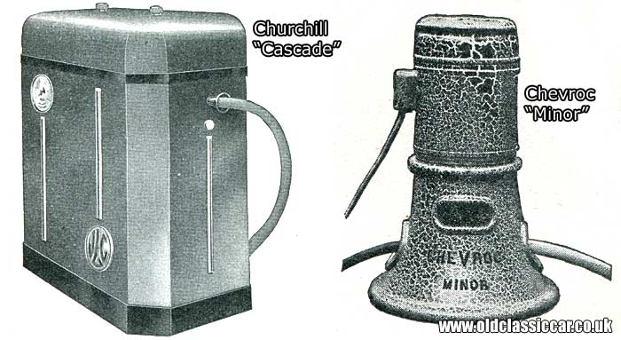 The Churchill Cascade pressure washer