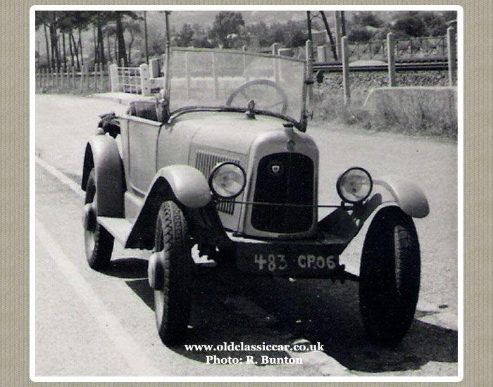 The 1923 Citroen Trefle