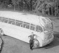 Burlingham-bodied Bedford SB coach