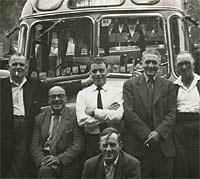 A continental coach trip