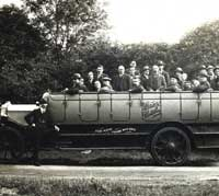 Grey Coaches char-a-banc in 1926