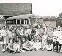 Southdown Leyland Tiger coaches