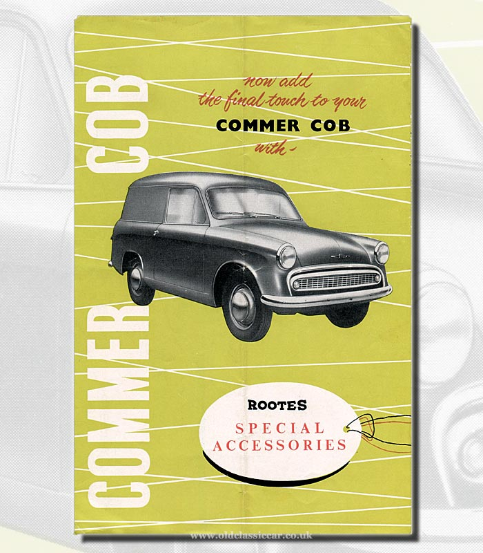 The basic Commer Cob from 1958