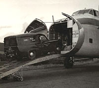 Loading the Bristol Freighter